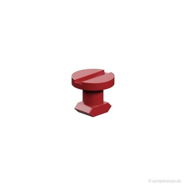 Verschlussriegel, rot