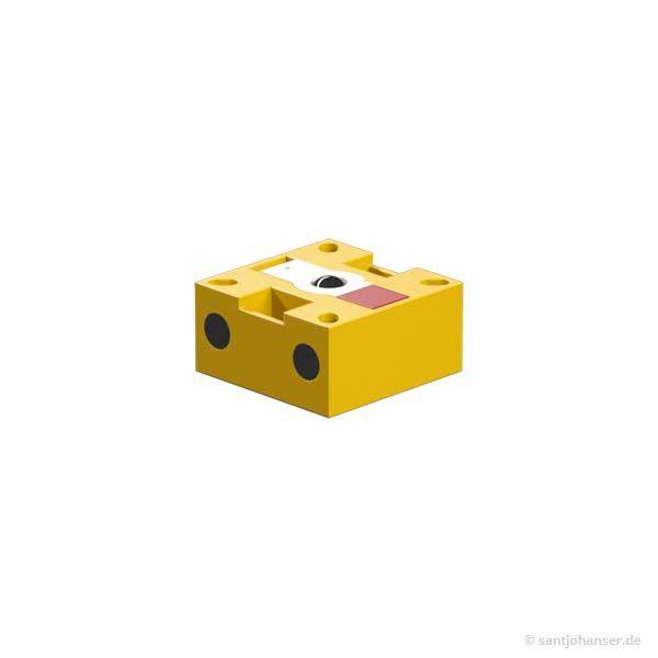 Fototransistor montiert, gelb