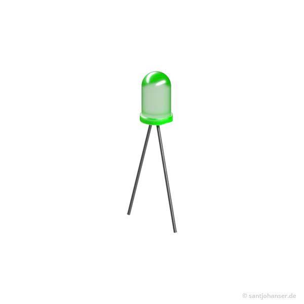 LED 5 L53GD/B, grün