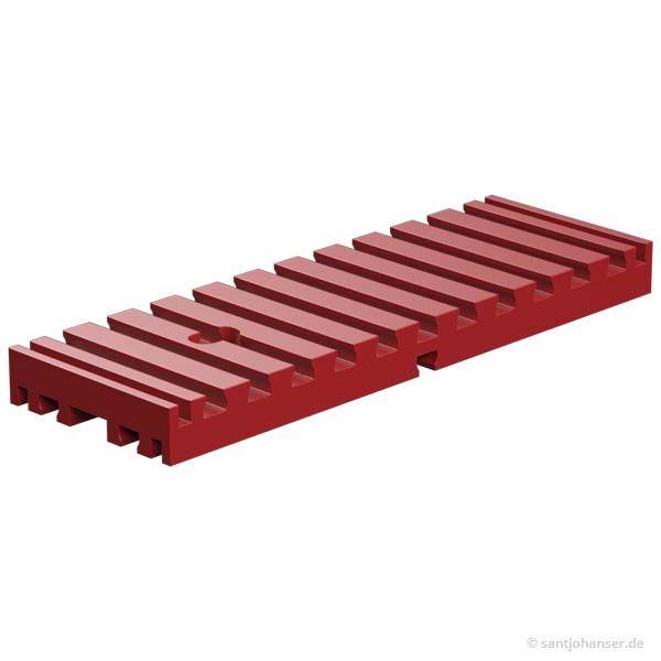 Bodenplatte 30x90, rot