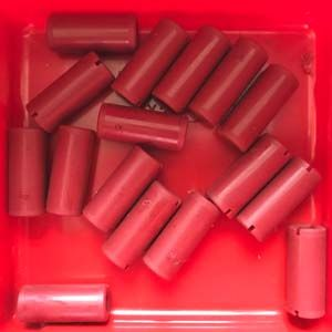 Klemmbuchse 30 rot - Coupling 30 red
