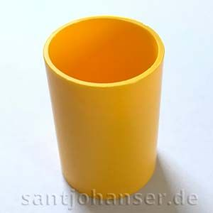 Rohrhülse gelb | Tubular sleeve yellow