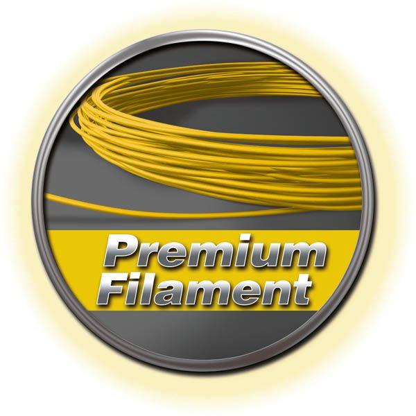 Premium Filament gelb 50g-Ring