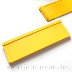 Muldenklappe gelb - Trailer flap yellow