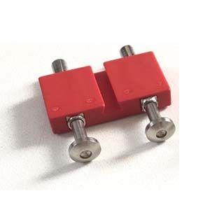 Bauplatte mit 2x Federschleifer