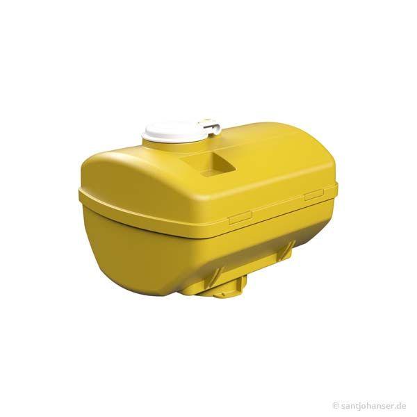 LKW Tank, gelb