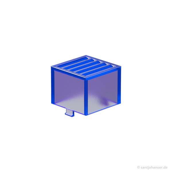 Rastleuchtkappe, blau