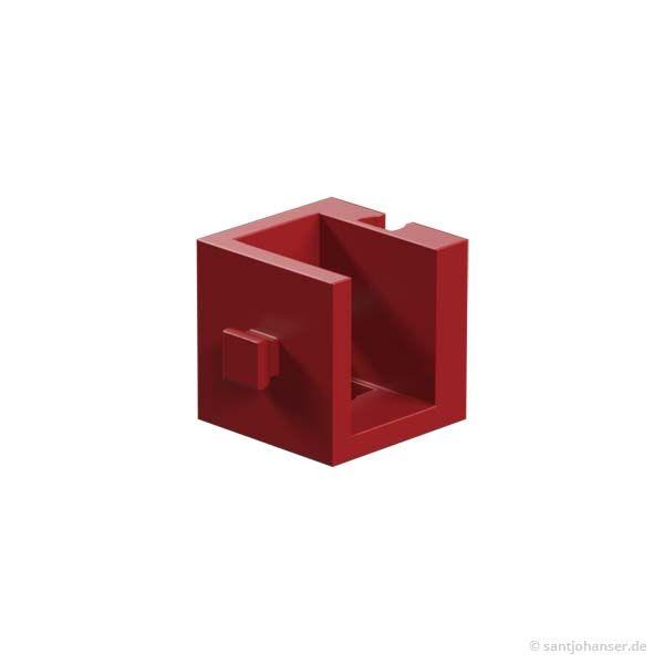 Winkelträger 15, rot