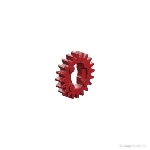 Riegelscheibe, rot