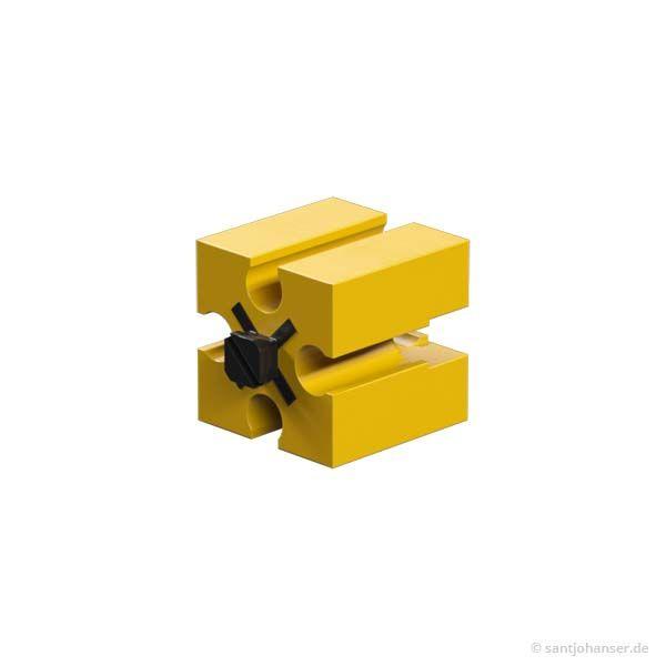 Baustein 15, gelb
