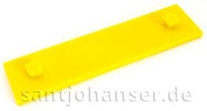 Bauplatte 15x60, gelb 2Z
