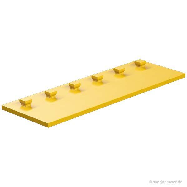 Bauplatte 30x90, gelb