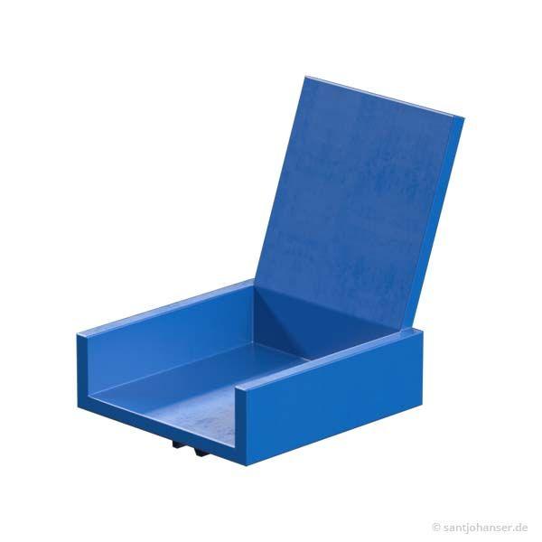 Sitz, blau