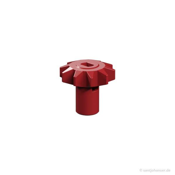 Abtriebsritzel Schrittmotor, rot