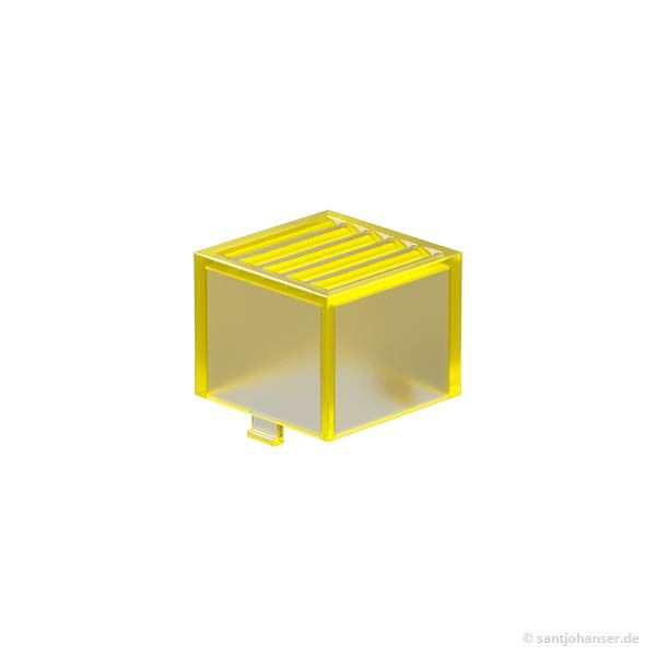 Rastleuchtkappe, gelb