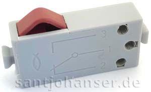 Mini-Taster grau - Mini switch