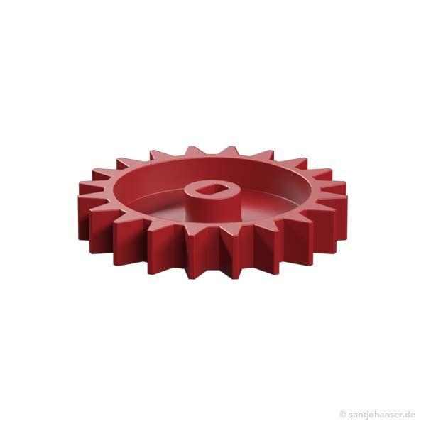 Rastkettenrad Z20, rot
