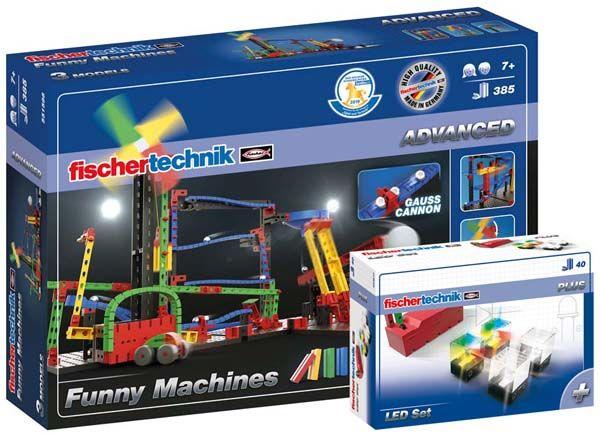 ADVANCED Funny Machines + LED Set