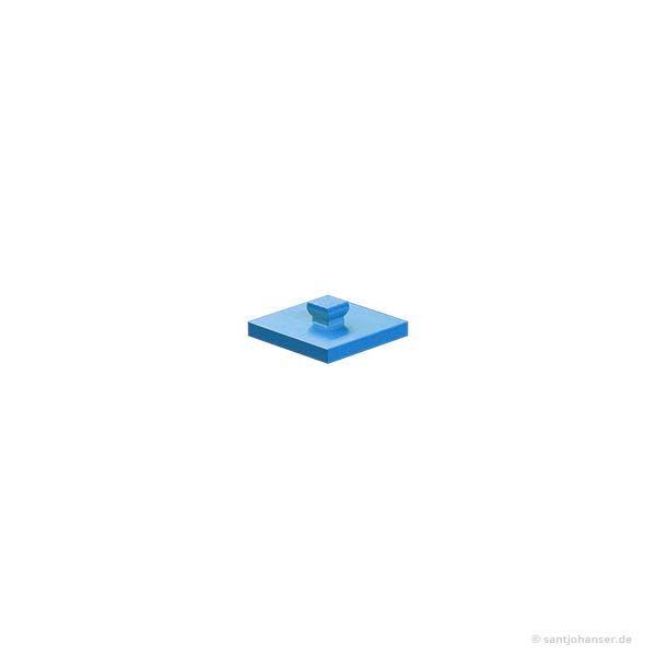 Bauplatte 15x15, blau