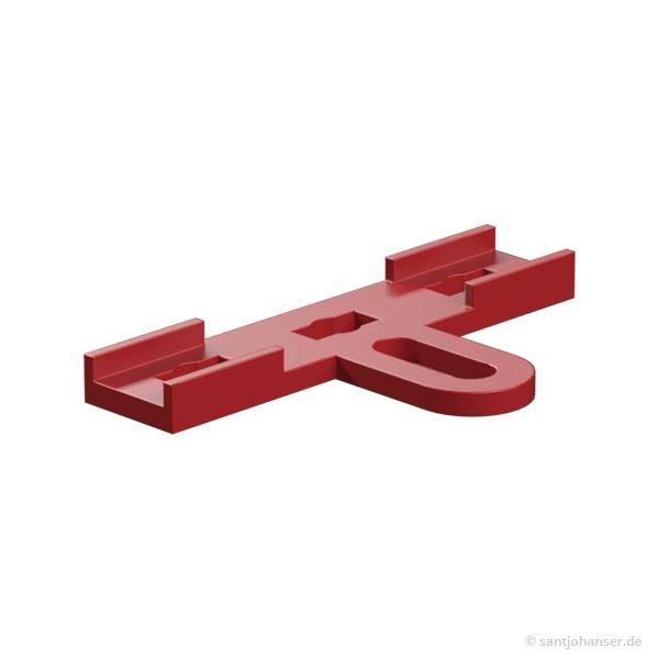 Servolasche, rot