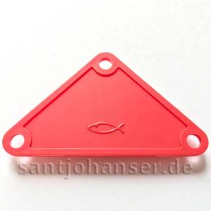 Dreiecksplatte - triangular plate