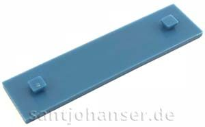 Bauplatte 15x60 mittel blau - Mounting plate