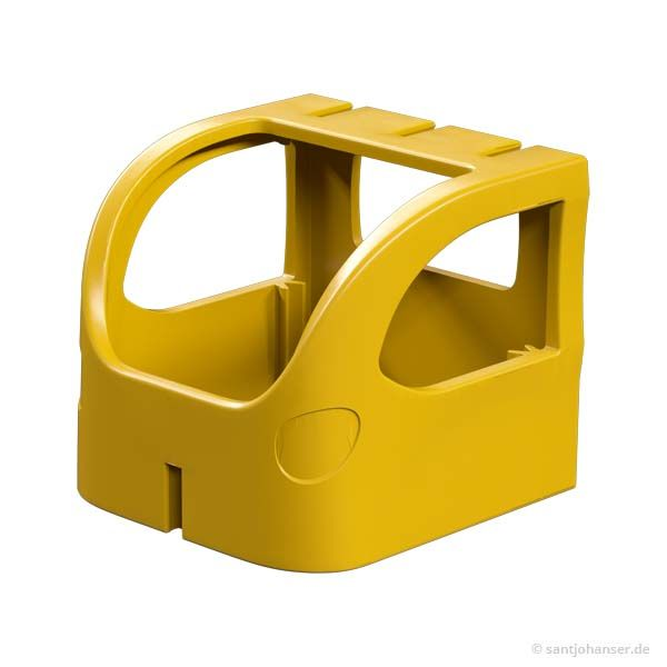 Führerhaus, gelb