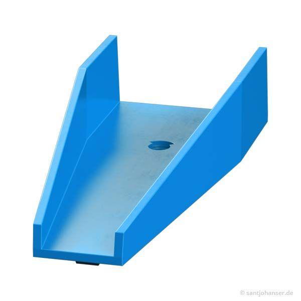 Wechselweiche Unterteil, blau