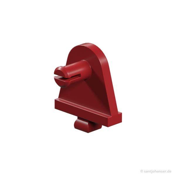 Radhalter, rot