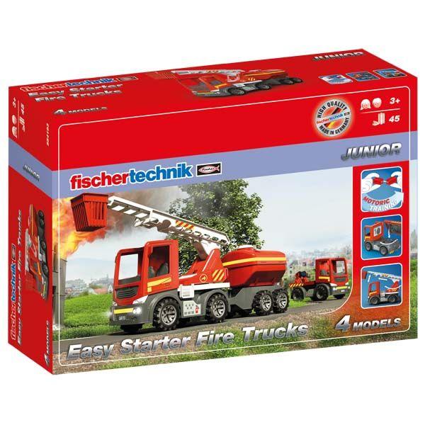 Easy Starter Fire Trucks