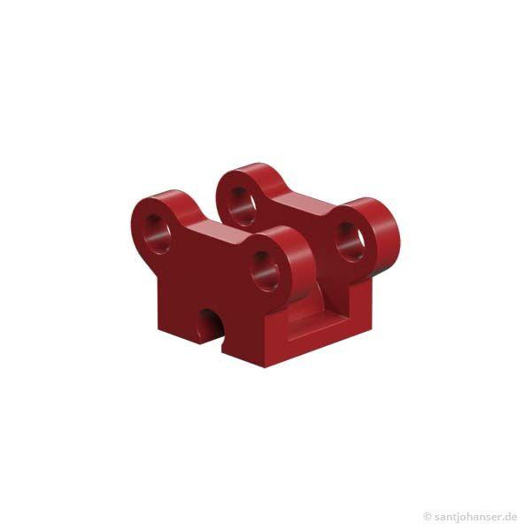 Rollenbock, rot